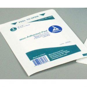 2″ x 3″ Sterile Gauze Non Stick: Single Pad