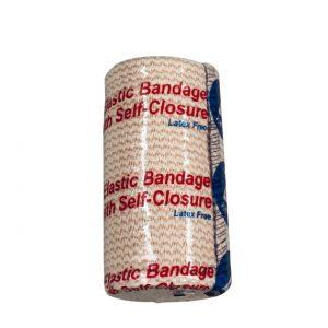 Elastic Bandage with Self-Closure 4″ x 5 yards