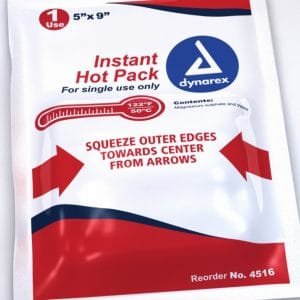 5″ x 9″ Instant Hot Pack Non-Toxic