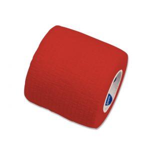 2″ x 5 yard Latex Free Sensi-Wrap: Single Roll RED