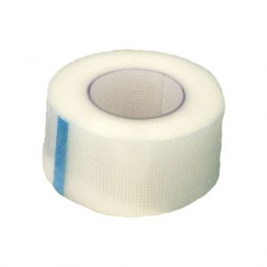 1″ x 10 yard Clear Surgical Tape: Single Roll
