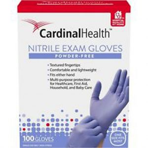 Nitrile Medical Examination Gloves Powder-Free, Large