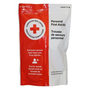 CANADIAN RED CROSS PERSONAL FIRST AID KIT