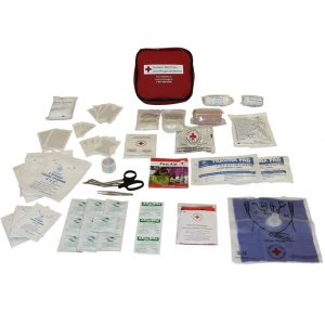RED CROSS AUTO FIRST AID KIT
