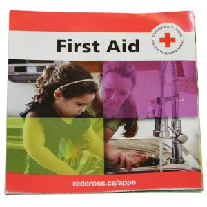 FIRST AID FAST GUIDE (BILINGUAL – ENGLISH/FRENCH) – REFERENCE ONLY